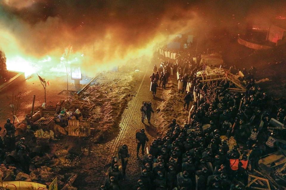 kiev-burning
